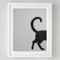akwarela,kotek - Obrazy - Wyposażenie wnętrz