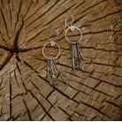 Kolczyki Kolczyki koła z cyrkoniami