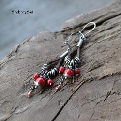 etno kolczyki,folk kolczyki - Kolczyki - Biżuteria