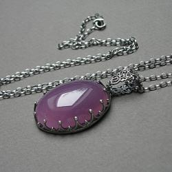 koronkowy,stylowy,ekskluzywny - Naszyjniki - Biżuteria