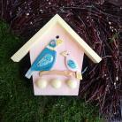 Ceramika i szkło domek na klucze,ptaszek,ptaki,na klucze