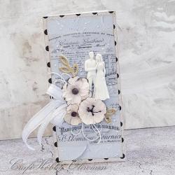 ślub,kartka,ślubna,życzenia,para - Kartki okolicznościowe - Akcesoria