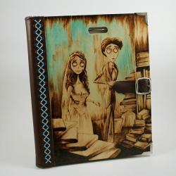 wypalanie,notatnik,szkicownik - Notesy - Akcesoria