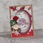 Kartki okolicznościowe Święta,Boże Narodzenie,vintage,anioł