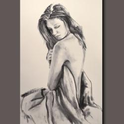 akt,kobieta,woman,nagość,ciało,lady - Ilustracje, rysunki, fotografia - Wyposażenie wnętrz