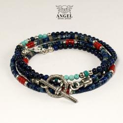 boho styl,bransolety letnie,koraliki - Dla mężczyzn - Biżuteria