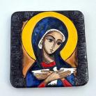 Ceramika i szkło Beata Kmieć,ikona,Pneumatofora,ceramika