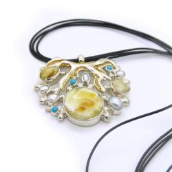 wisior,prezent,dla niej,unikat - Wisiory - Biżuteria