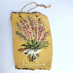 ceramika dekor lawenda - Ceramika i szkło - Wyposażenie wnętrz