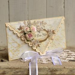 w dniu ślubu,wesele,młodej parze,ślub - Kartki okolicznościowe - Akcesoria