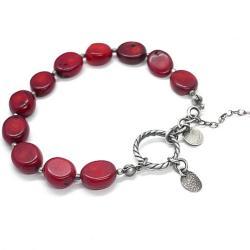 surowa,kamienie,minerały,elegancka - Bransoletki - Biżuteria