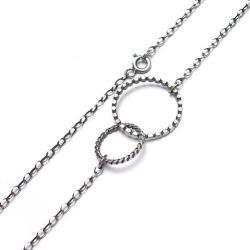 asymetryczny,krótki,nowoczesny,karma - Naszyjniki - Biżuteria