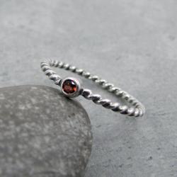 z oczkiem,delikatny,drobny,minimalistyczny - Pierścionki - Biżuteria
