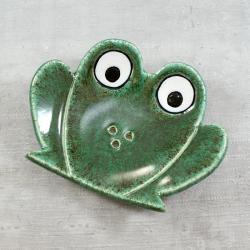 żaba,mydelniczka,łazienka,zwierzęta - Ceramika i szkło - Wyposażenie wnętrz