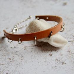 bransoletka skórzana - Bransoletki - Biżuteria