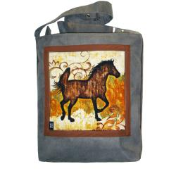 koń,ogier,klacz - Na ramię - Torebki