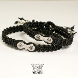 bransoleta rowerowa,biżuteria motocyklowa - Bransoletki - Biżuteria