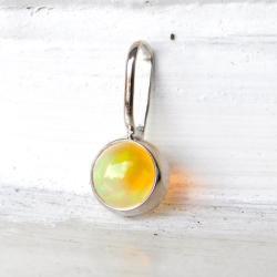 wisiorek,opal, - Wisiory - Biżuteria