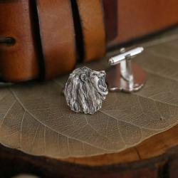 srebrne spinki do koszuli,spinki do mankietów - Dla mężczyzn - Biżuteria