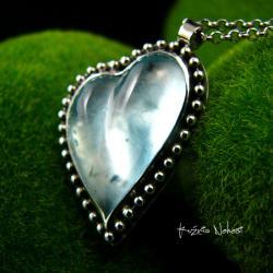 Nehesi,naszyjnik,srebrny,srebra,akwamarynem - Naszyjniki - Biżuteria