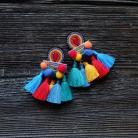 Kolczyki meksykańskie kolczyki,boho kolczyki