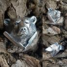 Pierścionki Zahario,niedzwiedz,brzytwa,symbol,sila,moc,