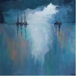 morze,akryl - Obrazy - Wyposażenie wnętrz