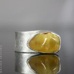 asymetryczny,regulowany pierścionek,otwarty - Pierścionki - Biżuteria
