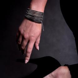 szeroka,modna,rockowa,odważna,stylowa, - Bransoletki - Biżuteria
