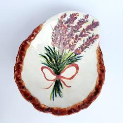 misa ceramika recznie lepiona lawenda - Ceramika i szkło - Wyposażenie wnętrz