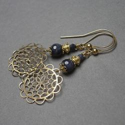 ażurowe,rozety - Kolczyki - Biżuteria