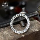 Pierścionki surowa biżuteria męska,personalizowana obrączka