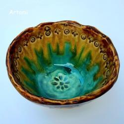 misa ceramika recznie lepiona - Ceramika i szkło - Wyposażenie wnętrz