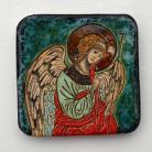 Ceramika i szkło Beata Kmieć,ikona,ceramika,ślub,anioł,chrzest