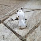 Pierścionki pierścionek srebrny,perła słodkowodna,boho