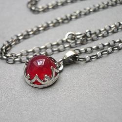 elegancki,koronkowy - Naszyjniki - Biżuteria