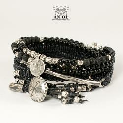 męska biżuteria,surowa bransoleta męska - Dla mężczyzn - Biżuteria