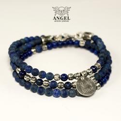 bransoleta z koralików,męska biżuteria - Bransoletki - Biżuteria
