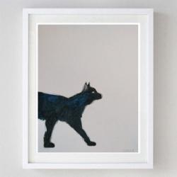 kotek,akwarela - Obrazy - Wyposażenie wnętrz