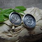Kolczyki czarownica,srebro,wkrętki,sztyfty