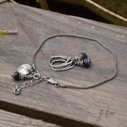 delikatny,z szafirem - Komplety - Biżuteria