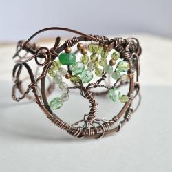 bransoletka,miedź,na prezent,duża bransoletka - Bransoletki - Biżuteria