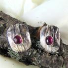 Kolczyki kolczyki srebrne z turmalinami