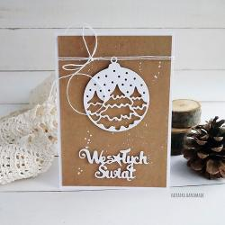Boże Narodzenie,kartka,eco - Kartki okolicznościowe - Akcesoria