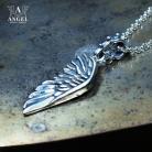 Naszyjniki skrzydło anioła,biżuteria męska,naszyjnik
