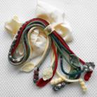 Naszyjniki naszyjnik,szydełko,włóczka,prezent