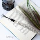 Zakładki do książek zakładka do książki z piórkiem,prezent dla niego