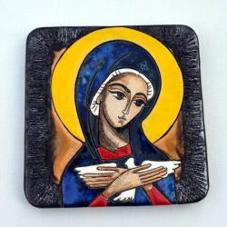 Beata Kmieć,ikona,Pneumatofora,ceramika - Ceramika i szkło - Wyposażenie wnętrz