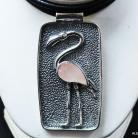 Naszyjniki naszyjniki,srebro,biżuteria,wisiory,różowy kwarc