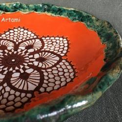 misa rzeżbiona ceramika tradycja - Ceramika i szkło - Wyposażenie wnętrz